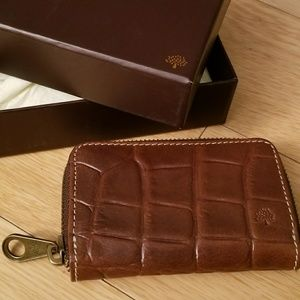 Mulberry zip coin purse